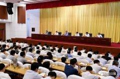 全市领导干部大会召开!宣布省委关于阜阳市委主要领导